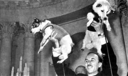 53 года назад белка и Стрелка стали мировыми героями