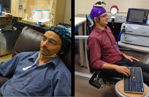 Мозг двух людей соединили с помощью интернета