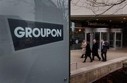 Акции Groupon выросли в цене