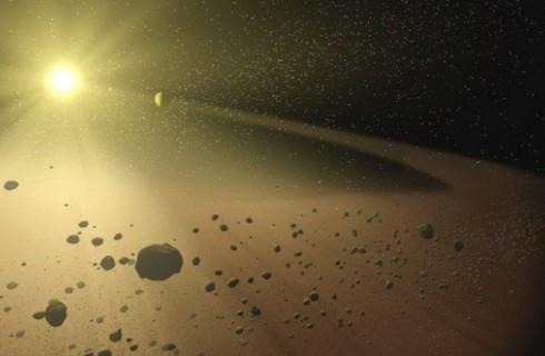 Астрономы нашли неактивное скопление комет