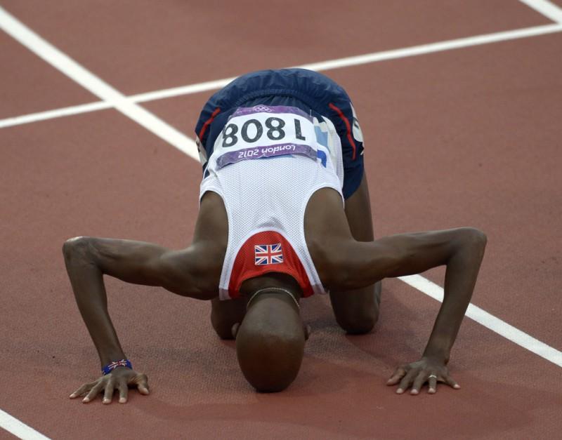 Мо Фарах победил на дистанции 10 тысяч метров