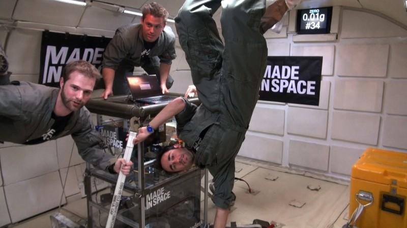 NASA отправит 3D-принтер в космос