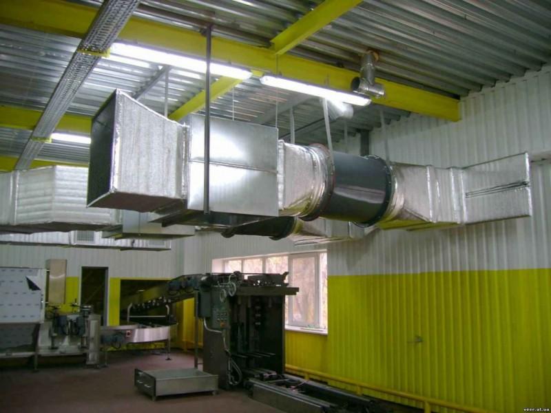 Организация приточной системы вентилирования