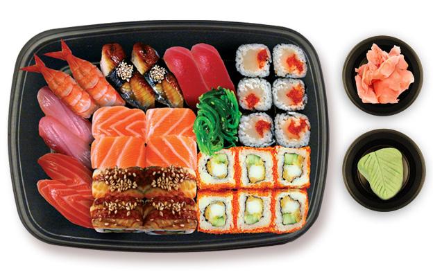 Бесплатная доставка суши