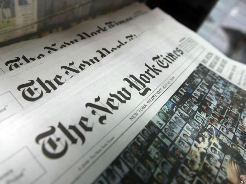 Нью-Йорк Таймс пострадала из-за «вредоносной атаки»