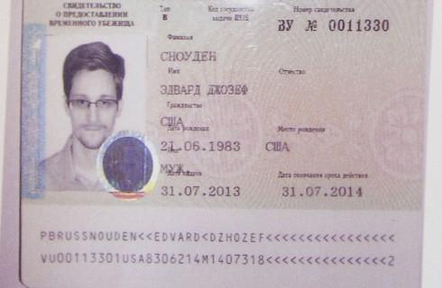 США считает, что Сноуден является нежелательным гостем для России
