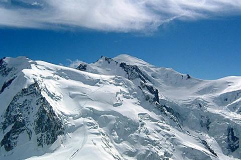 На горе Монблан  обнаружен клад