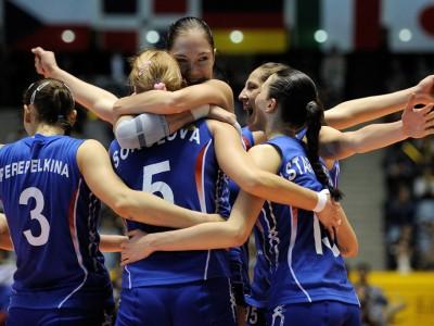 Женская сборная РФ по волейболу