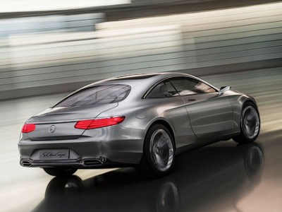 Концепт купе S-класса от Mercedes