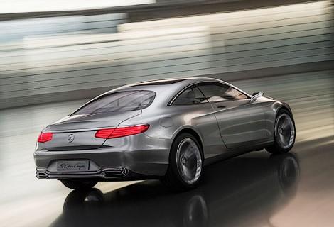 Дебют концепта купе S-класса от Mercedes