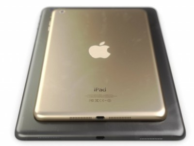 iPad mini 2 в золотом цвете
