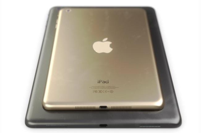 Очередной сюрприз от Apple – золотой iPad mini 2