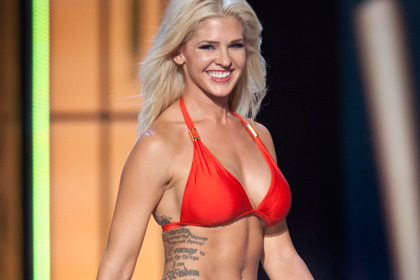 Девушка с татуировкой может завоевать Мисс Америка