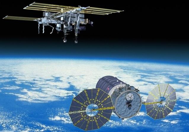 Частный корабль Cygnus долетел до МКС