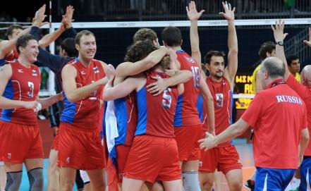 Первая победа за всю историю мужской сборной по волейболу
