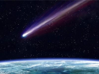Падение метеорита на Землю