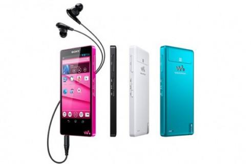 Представлены новые плееры Sony Walkman