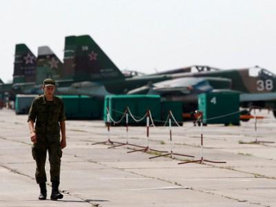 Аэродром в Приморско-Ахтарске
