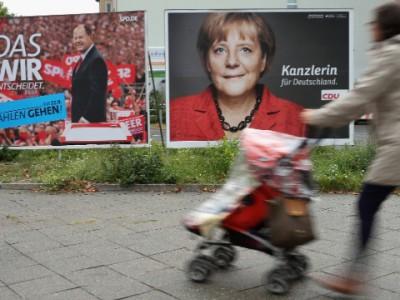 Штайнбрюк и Меркель претендуют на пост канцлера Германии