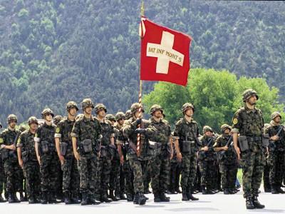 В Швейцарии сохранился воинский призыв