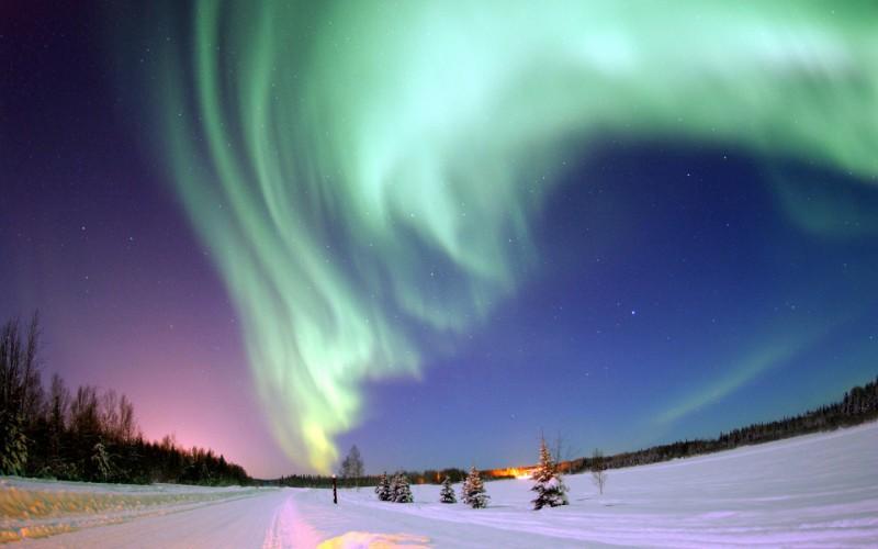 Зимний отдых в Лапландии