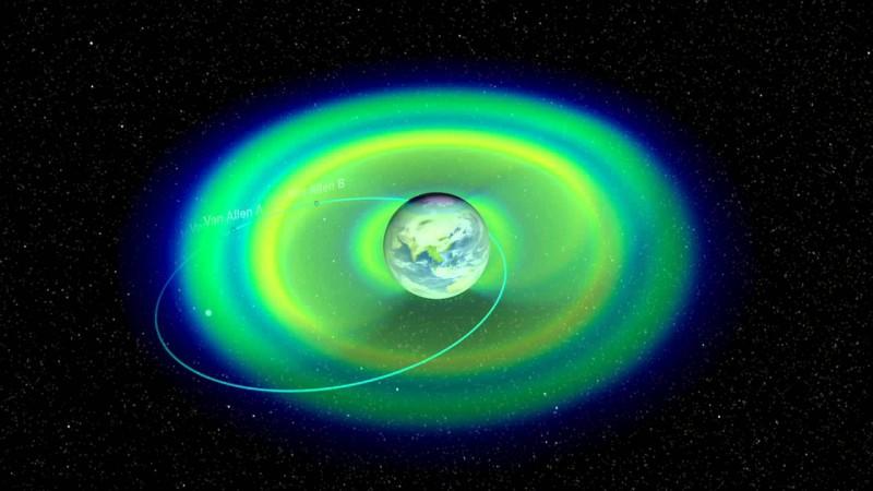 Определена природа третьего радиационного пояса Земли