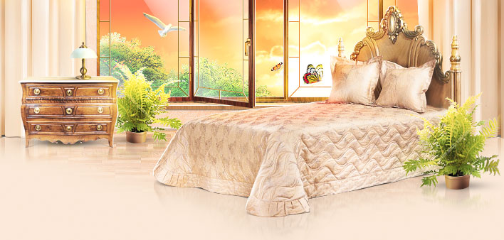 Царский сон с качественным текстилем