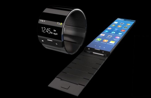 Samsung готовится к выпуску SmartWatch