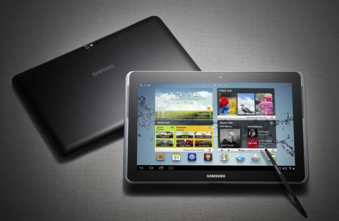 Galaxy Note 10.1 – планшет с самым быстрым процессором