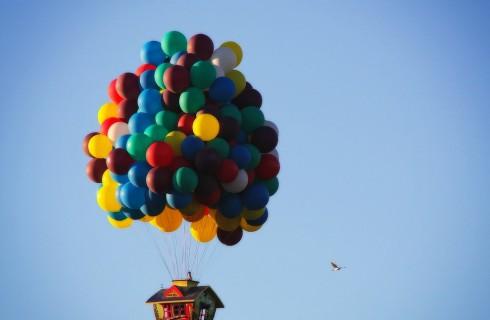 В Европу на воздушных шарах
