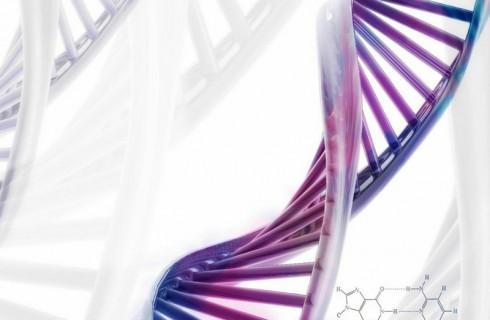 Художник создает лица из ДНК