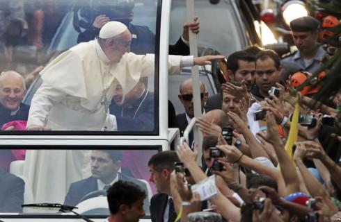 Папа Римский посетил Сардинию