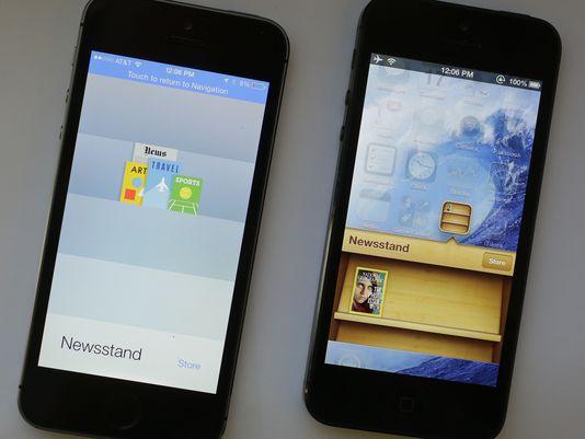 Советы и рекомендации для навигации в iOS 7