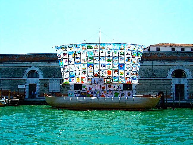 «Корабль толерантности» появился в парке Горького