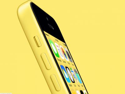 Желтый iPhone 5c