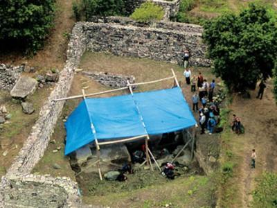 Раскопки в Дманиси