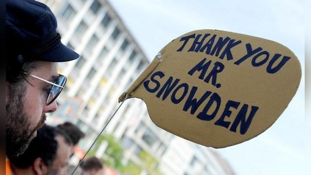 Сноуден награжден «За честность в разведке»