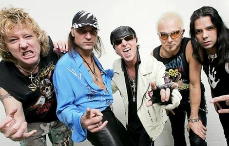 Группа Scorpions даст концерт в Москве