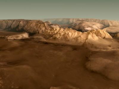 Полет над Марсом