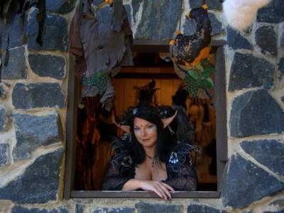 Американки отдают предпочтение костюмы ведьмы