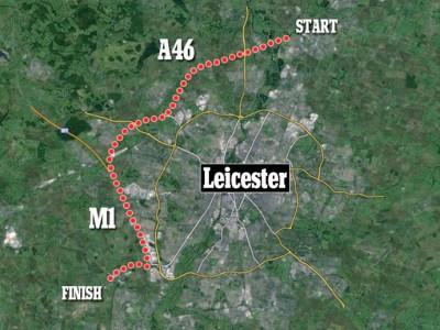 В Великобритании кот проехал на крыше фургона 35 километров