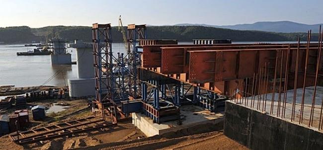Мост на Большой Уссурийский остров торжественно открыт