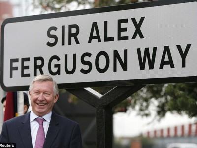 В честь Фергюсона была названа улица