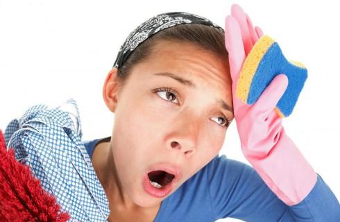 Женскому здоровью вредят домашние хлопоты