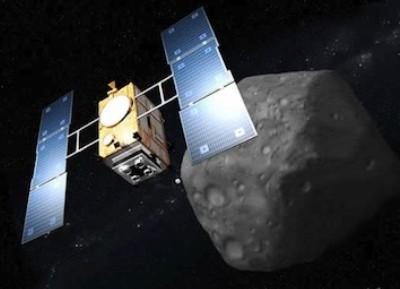 Зонд Хаябуса-2 и астероид