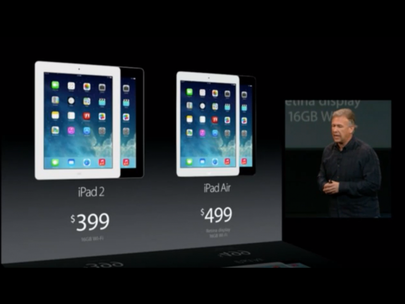 Компания Apple презентовала iPad Air и iPad mini Retina