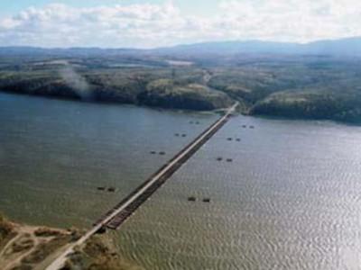 Мост на Большой Уссурийский остров