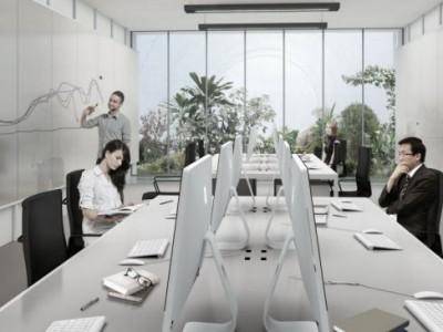 В Шанхае построили «надувной офис»
