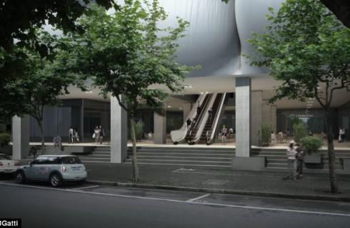 В Шанхае строится «надувной замок»