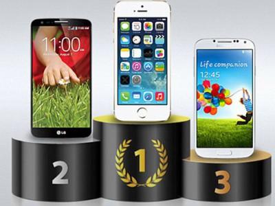 iPhone 5S самый быстрый телефон в мире